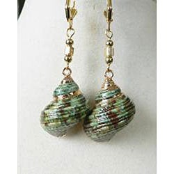 Traxine' Shell earrings - Thumbnail 1