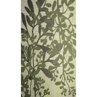 b.b.begonia Frisco Reversible Design Green and Brown Outdoor Area Rug (4' x 6')