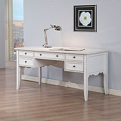 White Writing Desk Free Shipping Today Overstock Com