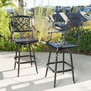 Christopher Knight Home Santa Maria Bar Stool (Set of 2)