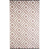 Shop Houndstooth Area Rug 7 10 Quot X 11 2 Quot Free Shipping