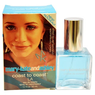 Mary-Kate And Ashley Coast To Coast LA Women's 1.7-ounce Eau de Toilette Spray