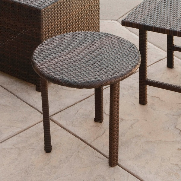 Palmilla Wicker Table (Set Of 3) By Christopher Knight Home   Free Shipping  Today   Overstock.com   14296318