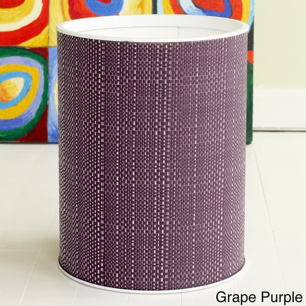 Shop LaMont Home 1530 Brights Round Woven Wastebasket ...