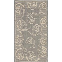"Safavieh Poolside Gray/Natural Indoor/Outdoor Accent Rug (2' x 3'7"")"