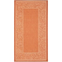 Safavieh Paradise Terracotta/ Natural Indoor/ Outdoor Rug - 2' x 3'7""