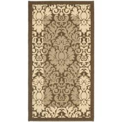 Safavieh Poolside Brown/ Natural Indoor/ Outdoor Rug (2' x 3'7)