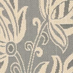 Safavieh Andros Grey/ Natural Indoor/ Outdoor Rug (2' x 3'7) - Thumbnail 2