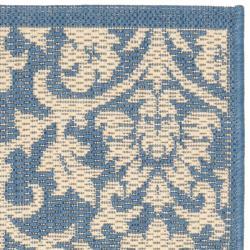 Safavieh Seaview Blue/ Natural Indoor/ Outdoor Rug (2' x 3'7) - Thumbnail 1