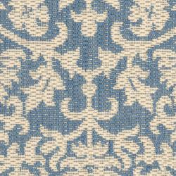 Safavieh Seaview Blue/ Natural Indoor/ Outdoor Rug (2' x 3'7) - Thumbnail 2