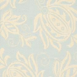 Safavieh Courtyard Bloom Aqua/ Cream Indoor/ Outdoor Runner Rug (2' x 3'7) - Thumbnail 2