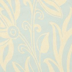 Safavieh Courtyard Bloom Aqua/ Cream Indoor/ Outdoor Rug (6'7 Round) - Thumbnail 2