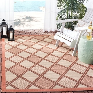 Safavieh Poolside Beige Indoor/ Outdoor Rug (2'7 x 5')