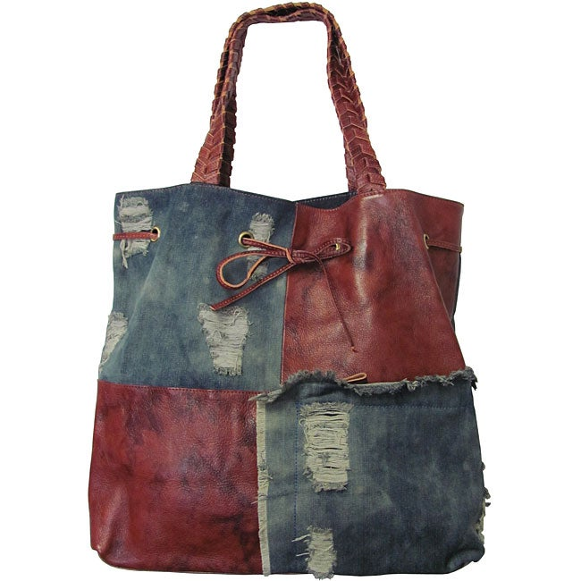 Overstock com shopping great deals on amerileather tote bags