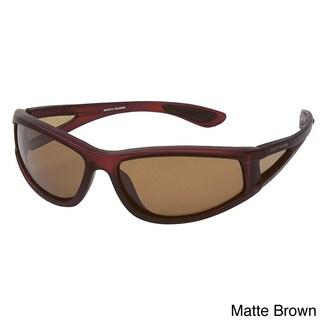 Body Glove FL1 Floating Polarized Sunglasses (Option: Matte Brown Rubberized/Brown Polarized)