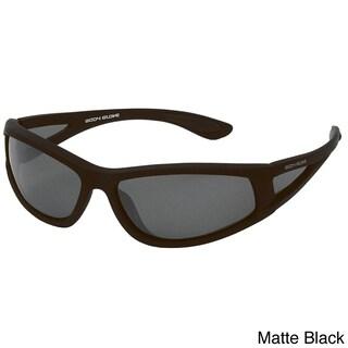 Body Glove FL1 Floating Polarized Sunglasses (Option: Matte Black/Smoke Polar w/Silver Mirror)