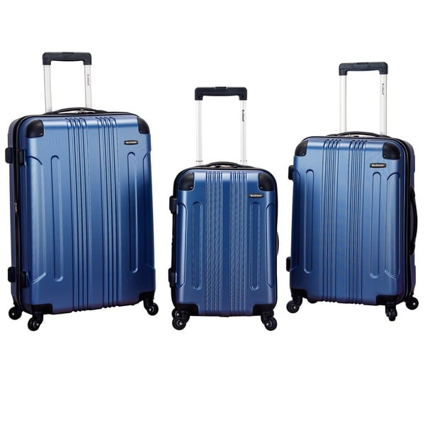 Rockland London Lightweight 3-piece Hardside Spinner Upright ...