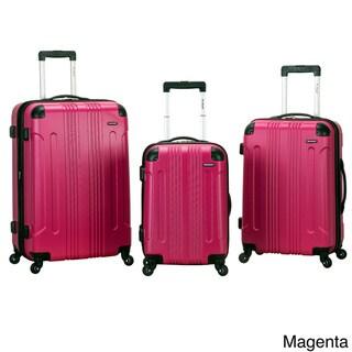 Rockland London Lightweight 3-piece Hardside Spinner Upright Luggage Set