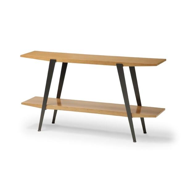 Chai Bamboo/ Gunmetal Console Table