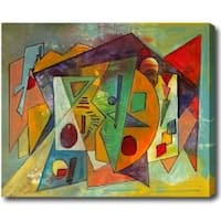 Extra Large Abstract Oil on Canvas Art