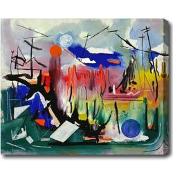 Contemporary Abstract Oil on Canvas Art