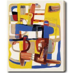 'Abstract' Gallery-wrapped Canvas Art