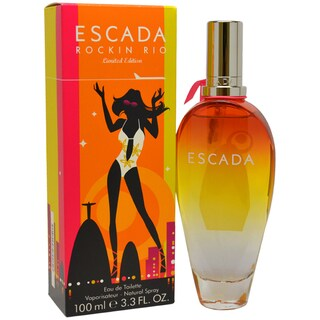 Escada Rockin Rio Women's 3.3-ounce Eau de Toilette Spray (Limited Edition)