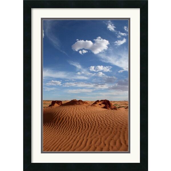 Andy Magee 'Desert Sky' Framed Art Print
