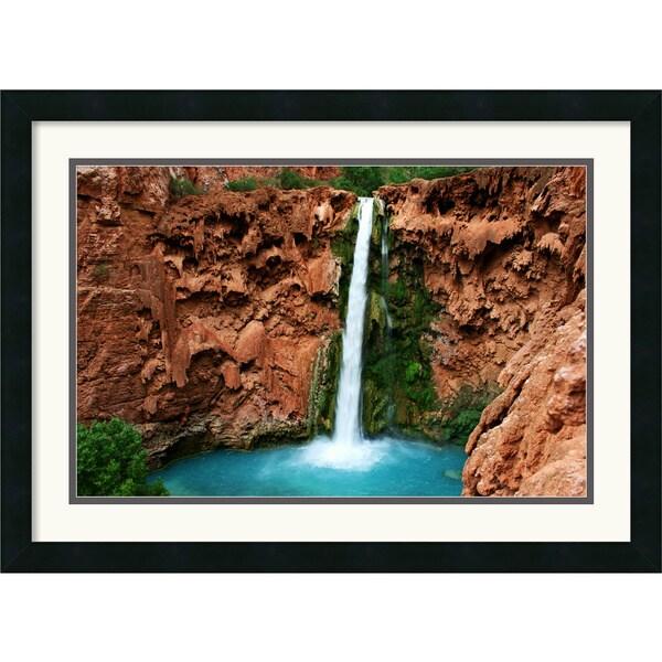 Andy Magee 'Mooney Falls' Framed Landscape Art Print