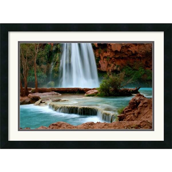 Andy Magee 'Sublime Havasu Falls' Framed Wall Art Print