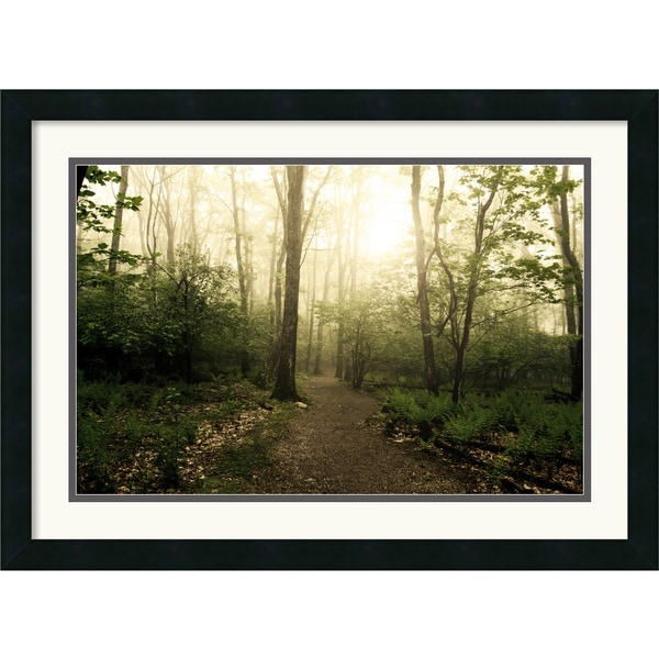 Andy Magee 'Appalachian Trail' Framed Art Landscape Print
