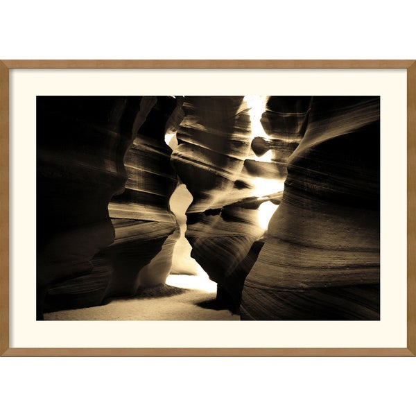 Andy Magee 'Antelope Canyon' Framed Art Print