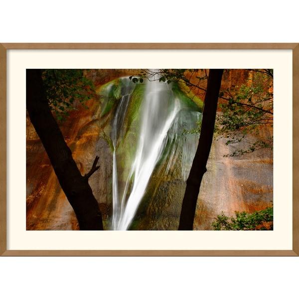 Andy Magee 'Calf Creek Falls' Framed Art Print