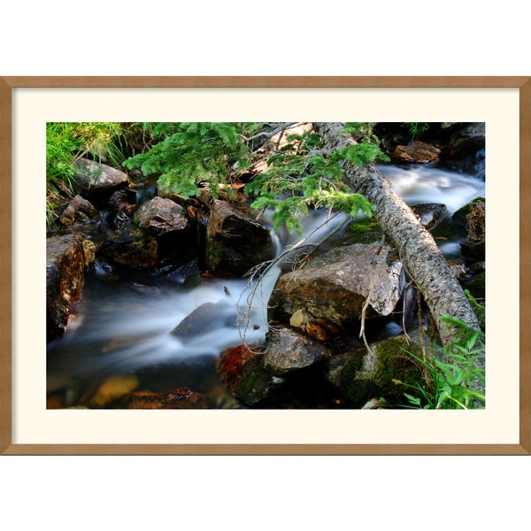 Andy Magee 'Mountain Stream' Framed Art Print