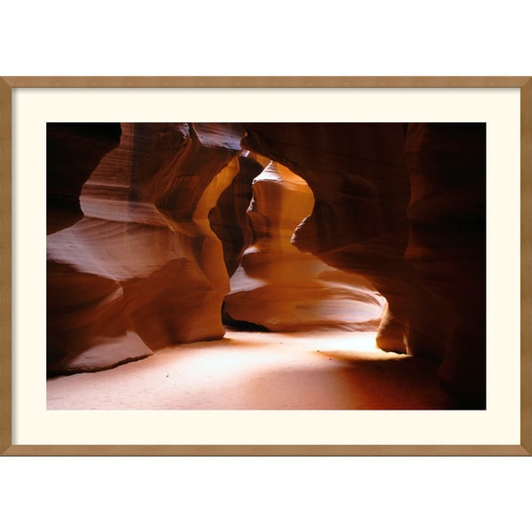 Andy Magee 'Antelope Canyon Passage' Framed Art Print