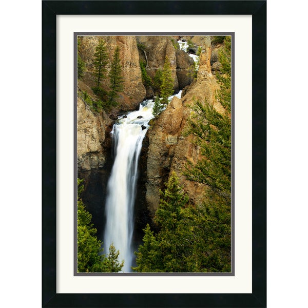 Andy Magee 'Tower Falls' Framed Art Print
