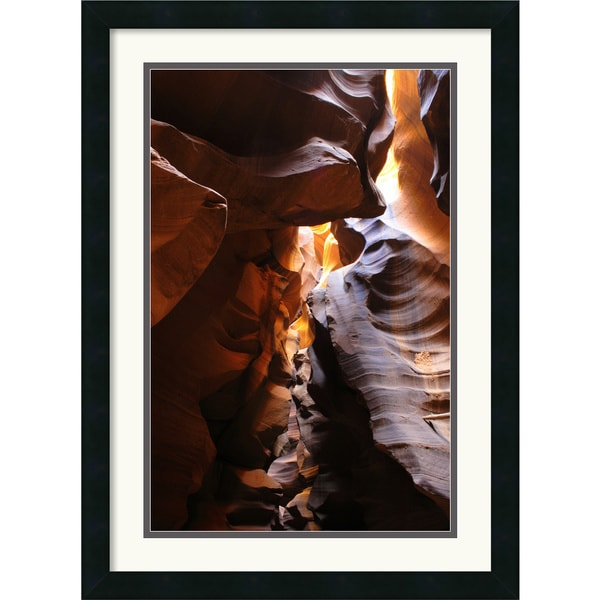 Andy Magee 'Antelope Canyon Lightplay' Small Framed Art Print