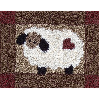"""Sheep Punch Needle Kit-3-3/4""""X4in"""