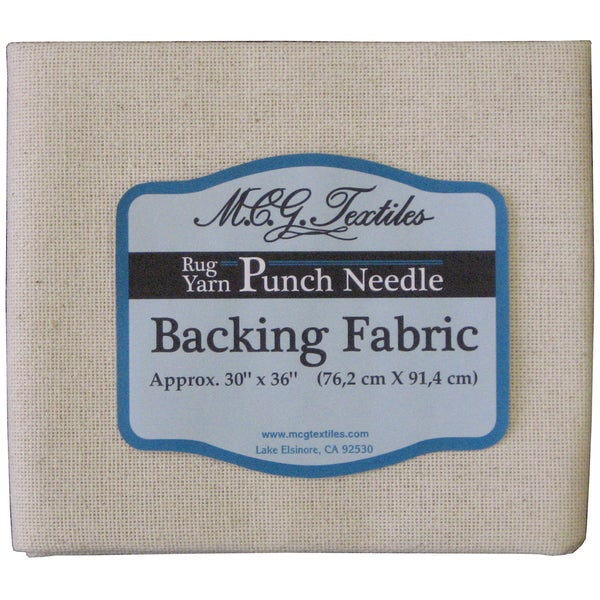 "Punch Needle Backing Fabric-30""X36IN"