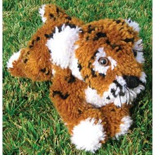 Huggables Tiger Stuffed Toy Latch Hook Kit