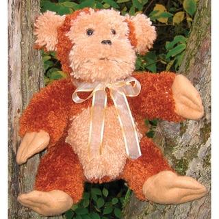Huggables Monkey Stuffed Toy Latch Hook Kit