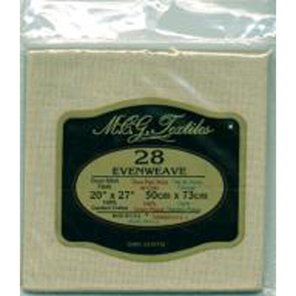 "Evenweave Fabric 28 Count 20""X27""-Mushroom"