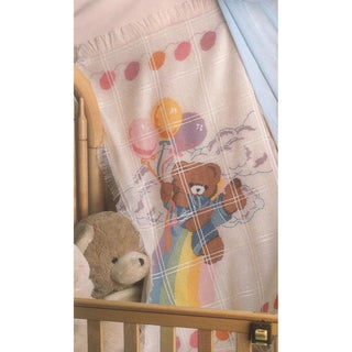 Bear And Balloons Baby Afghan Counted Cross Stitch Kit