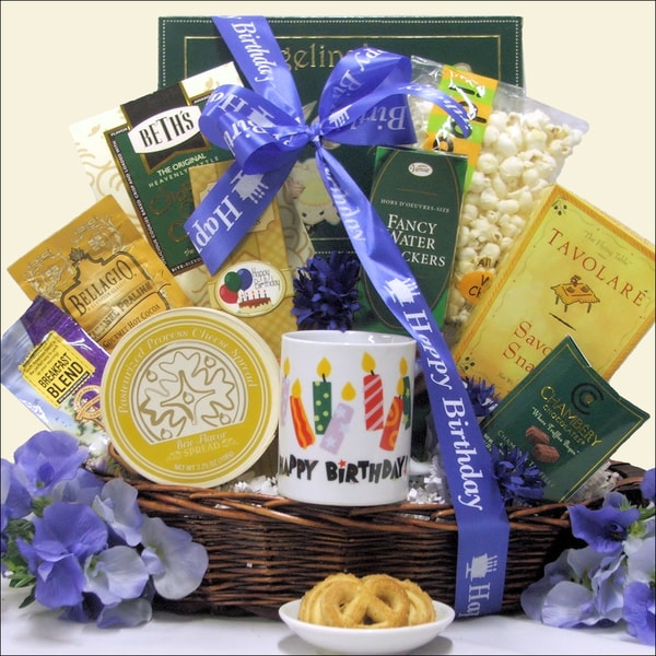 Birthday Gift Baskets Send Birthday Wishes With Gift: Shop Great Arrivals Birthday Wishes Gourmet Gift Basket
