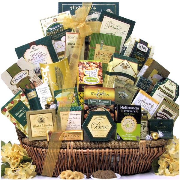 Great Arrivals Gallant Affair Gourmet Food/Chocolate Gift Basket