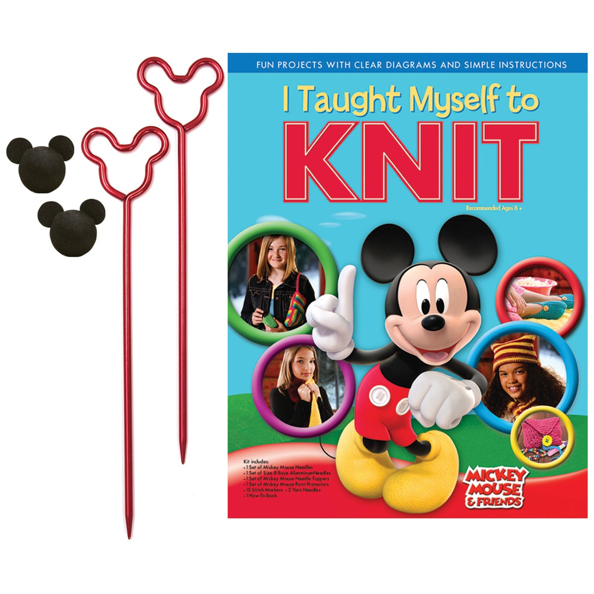 I Taught Myself To Knit Disney Mickey Mouse & Friends