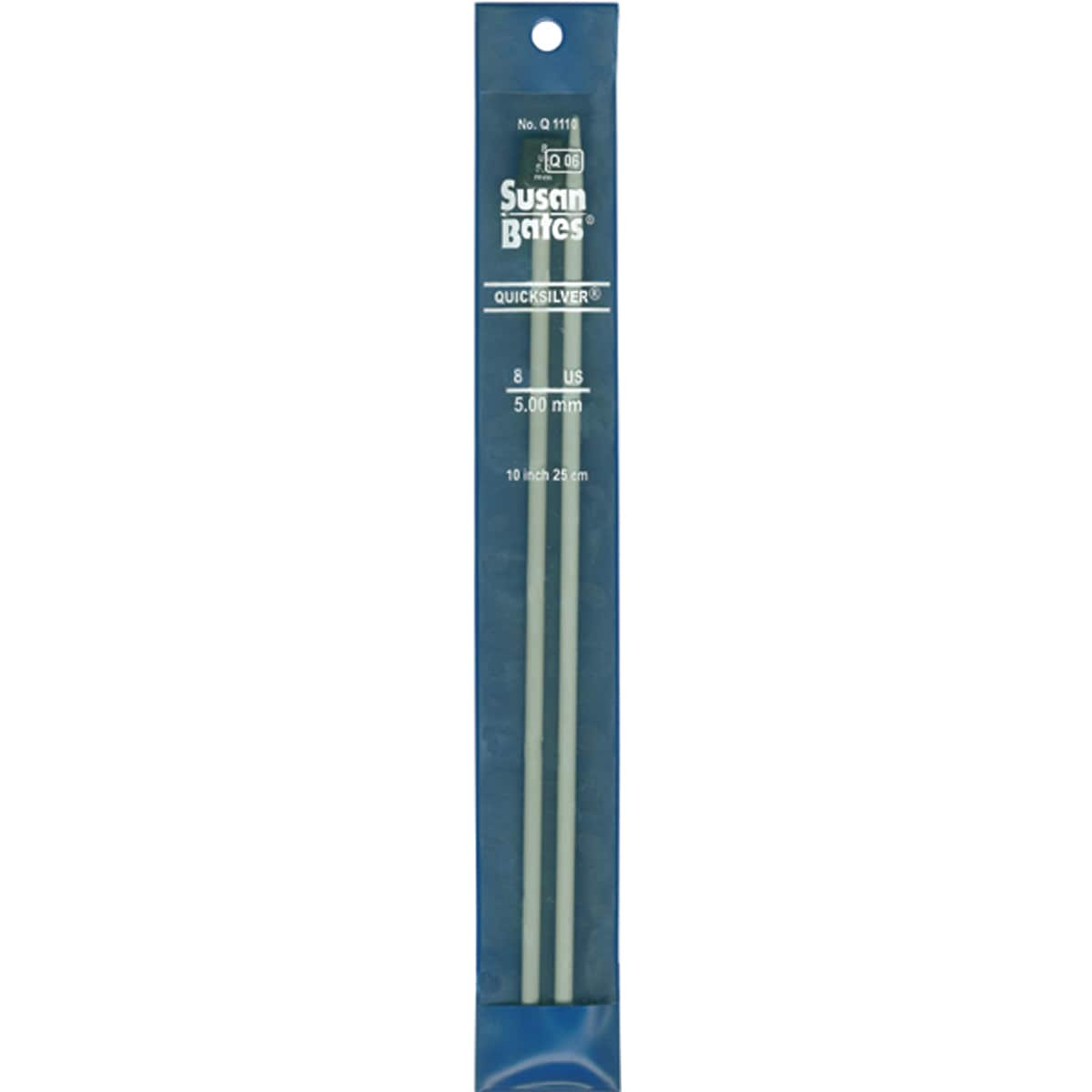 "Quicksilver Single Point Knitting Needles 10""-Size 11 - Thumbnail 0"