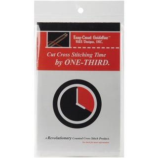 R&S Designs, Inc., Easy-count Red Guideline on a Spool (100 Yards)