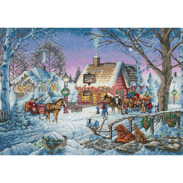 """Gold Collection Sweet Memories Counted Cross Stitch Kit-16""""X11"""""""