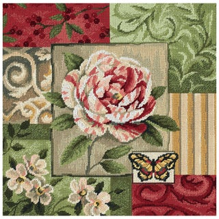 """Classic Impressions Needlepoint Kit-14""""X14"""" Stitched In Thread"""